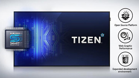 Embedded Media Player Powered by TIZEN