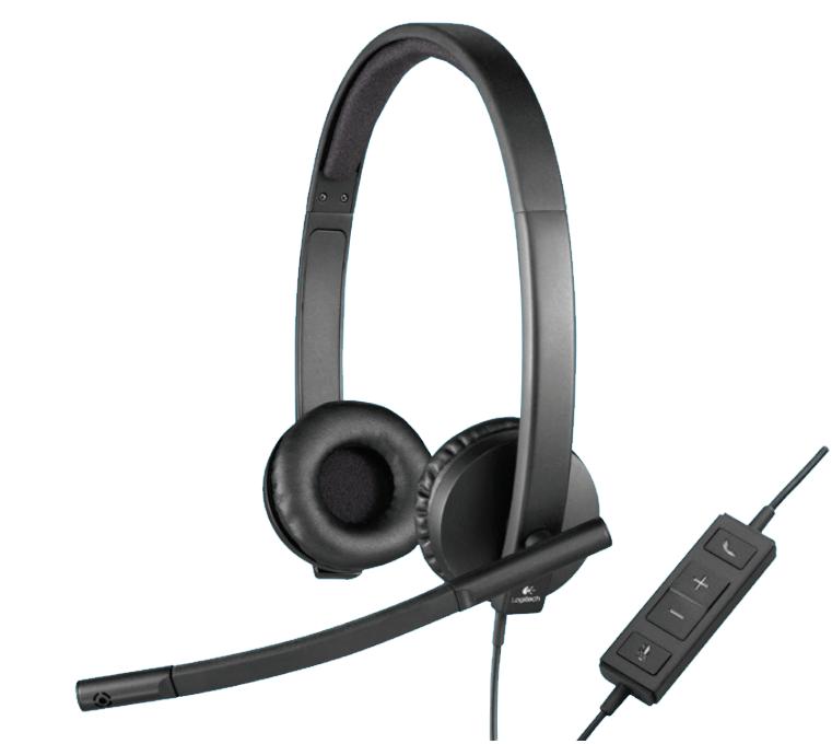 WFHGuard.com Logitech USB Headset Mono H570e